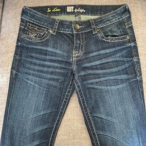 EUC Kut from the Kloth Kate So Low Jeans Size 4.